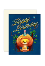 THE LITTLE RED HOUSE LION BIRTHDAY CC