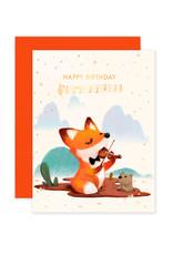 THE LITTLE RED HOUSE BIRTHDAY FOX CC