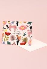 HAPPY BIRTHDAY CREAM ANIMAL KINGDOM CC