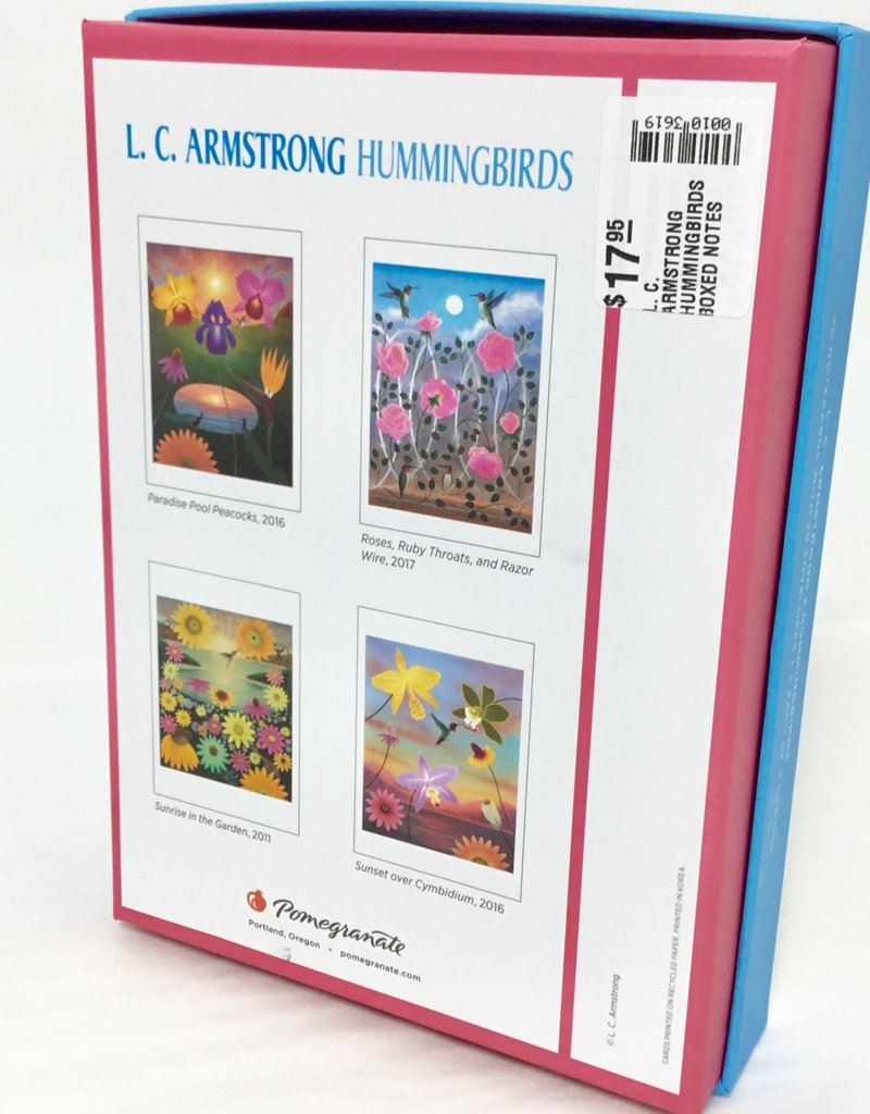 L. C. ARMSTRONG HUMMINGBIRDS  BOXED NOTES