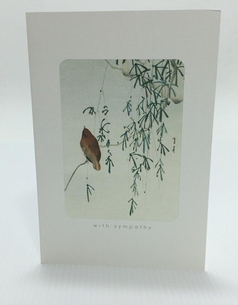 NC33623 BIRD BRANCHES SYMPATHY