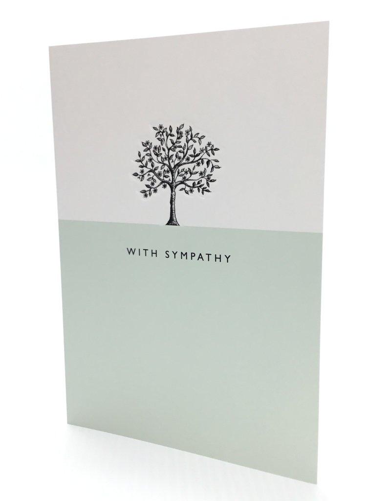 AFIM011 TREE SYMPATHY CARD
