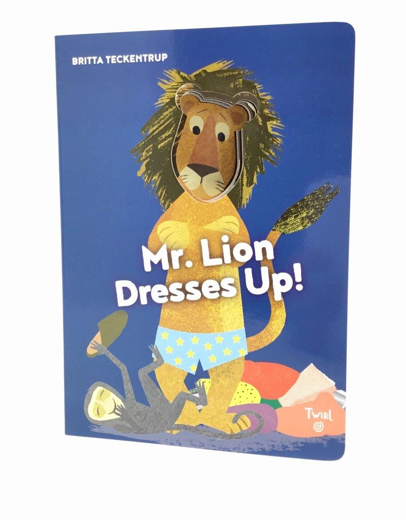 MR LION DRESSES UP