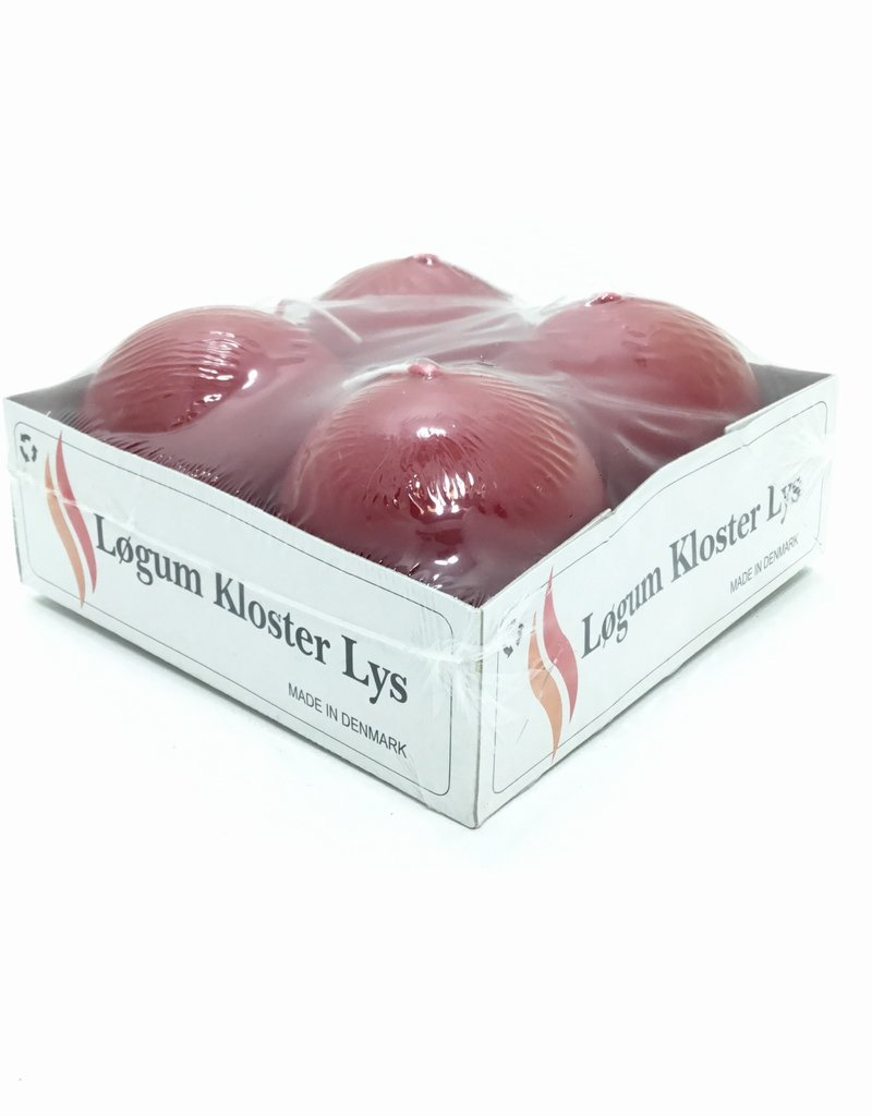 CINNAMON RED BALL CANDLES