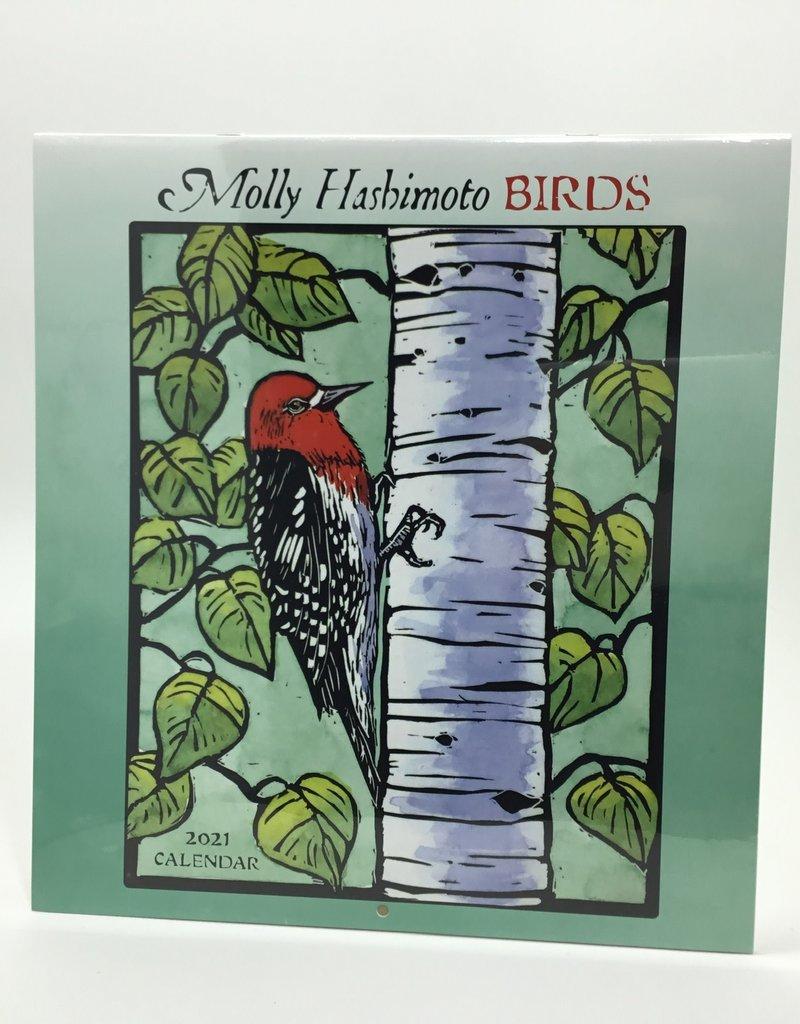 MOLLY HASHIMOTO 2021 BIRDS CALENDAR