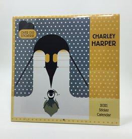 CHARLEY HARPER 2021  WALL STICKER CALENDAR