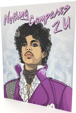 PRINCE NOTHING COMPARES 2U COUNTER CARD