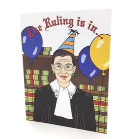 RBG BIRTHDAY CARD