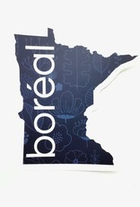 BOREAL MN SHAPED STICKER
