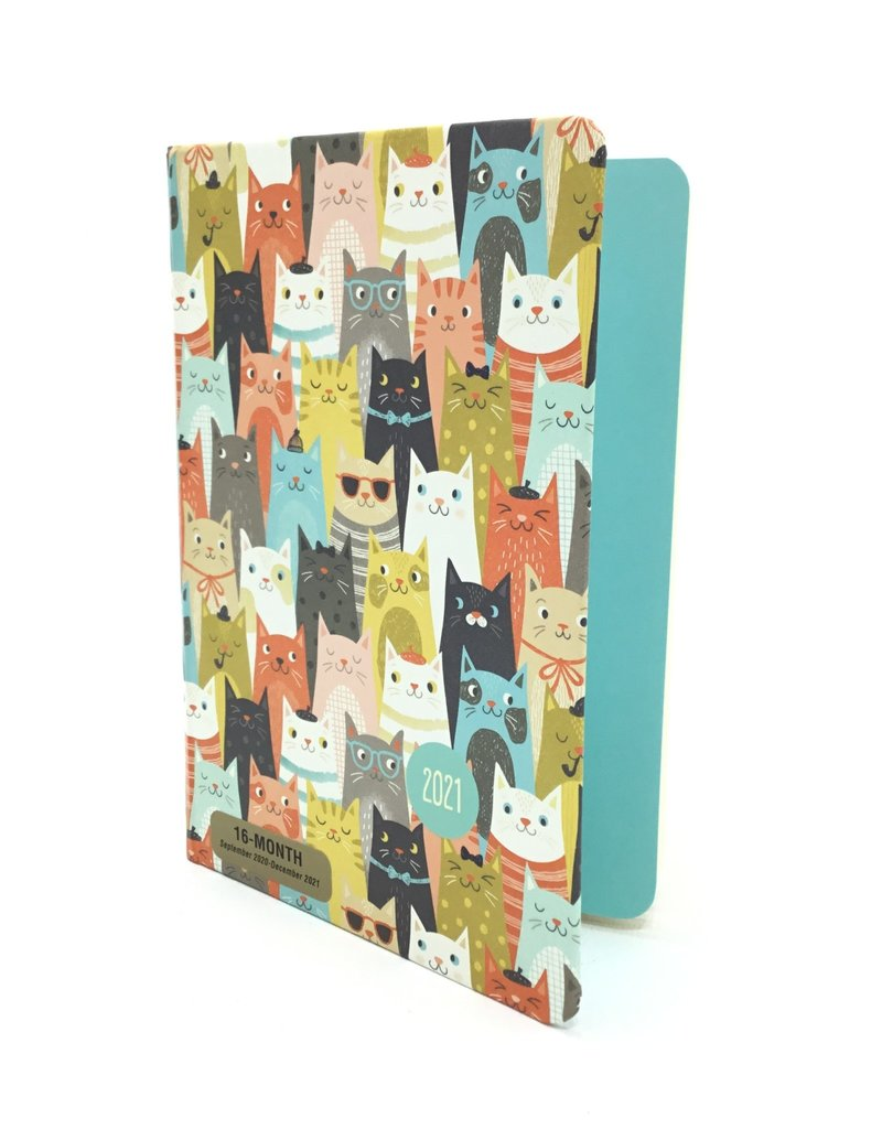 2021 Cats Weekly Planner