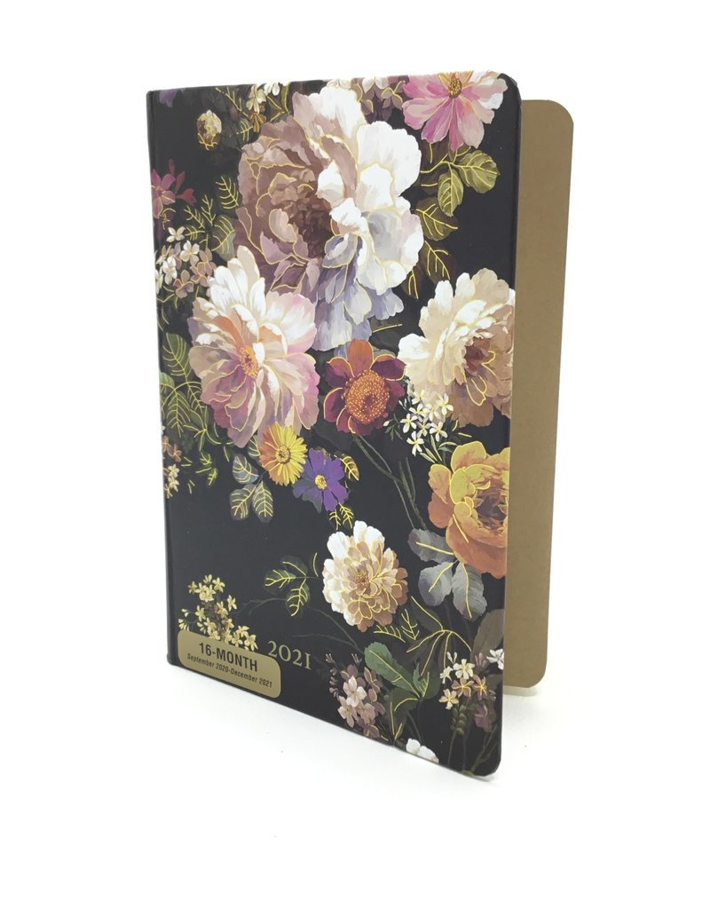 2021 Midnight Floral Weekly Planner