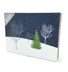 Deluxe Holiday Cards: Midnight Cardinal