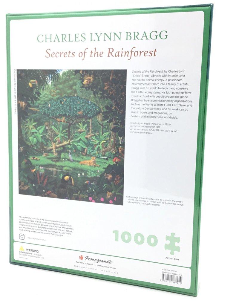 SECRETS OF THE RAINFOREST 1000 PIECE PUZZLE