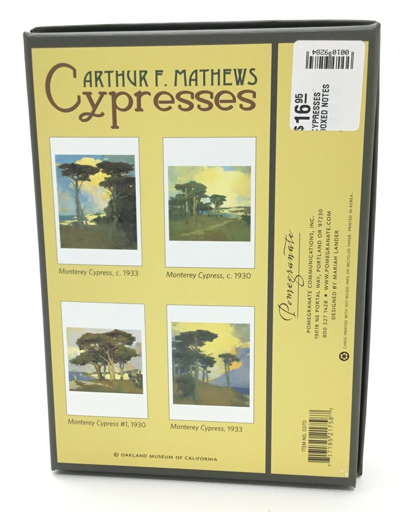 CYPRESSES BOXED NOTES