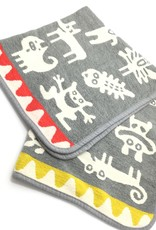 MONSTERS BABY 100% ORGANIC COTTON CHENILLE BLANKET