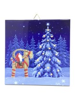 TOMTE ON STRAW GOAT TILE