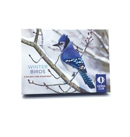 SIERRA WINTER BIRDS HOLIDAY CARDS