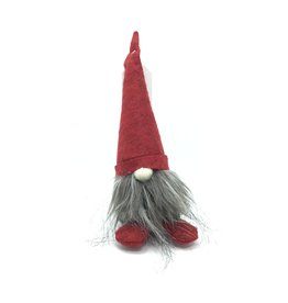 RED HAT RED FEET GREY BODY TOMTE