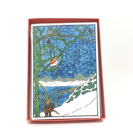 THE MAJESTY OF WINTER  HOLIDAY BOXED CARDS