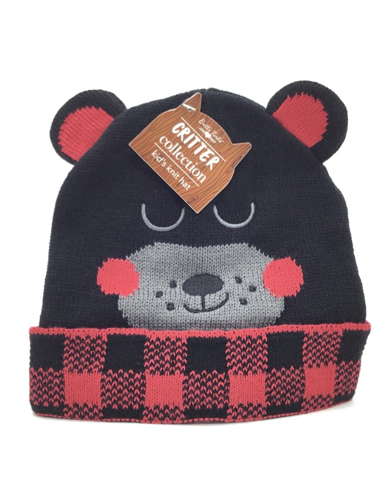 BLACK BEAR HAT