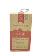 TANGERINE SOAP ON A ROAP