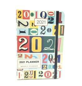 VINTAGE NUMBERS 2021 PLANNER