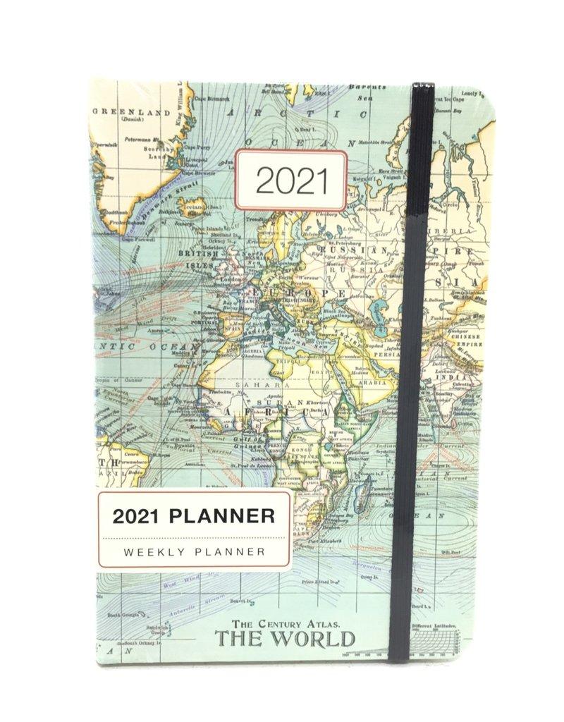VINTAGE MAP 2021 PLANNER