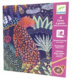 LUSH NATURE SCRATCH CARDS