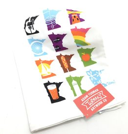 ADAM TURMAN MINNESOTA MONTHS TEA TOWEL