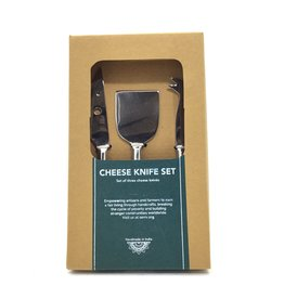 SERRV CHEESE KNIFE SET