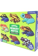 TROPICAL FROGS SHAPED MEMORY MATCH