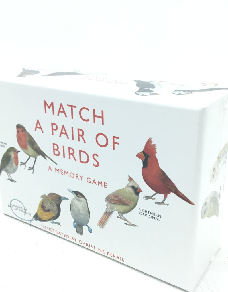 MATCH A PAIR OF BIRDS