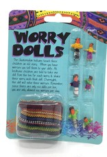 WORRY DOLLS CARDED