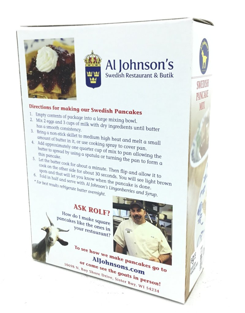 AL JOHNSON'S SWEDISH PANCAKE MIX