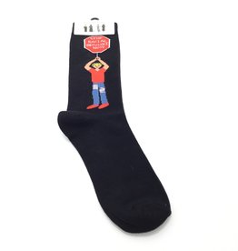 STOP INJUSTICE NOW SOCKS