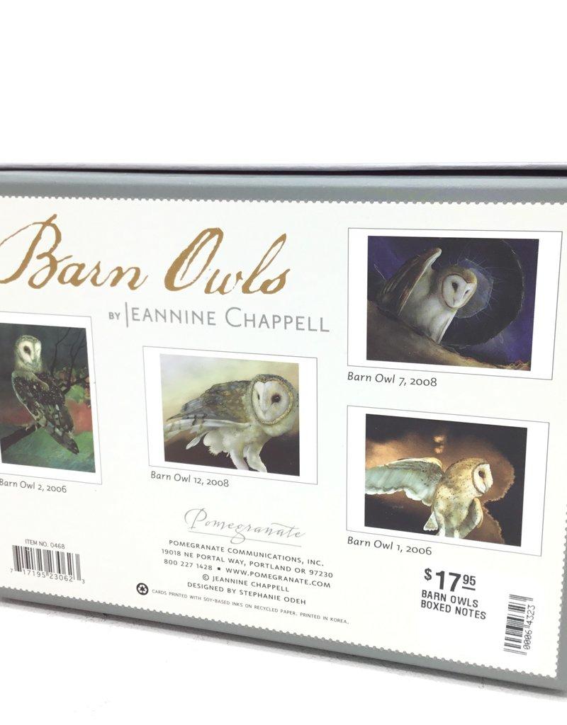 BARN OWLS BOXED NOTES