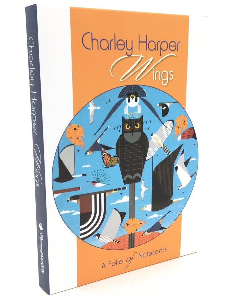 CHARLEY HARPER WINGS NOTECARD FOLIO