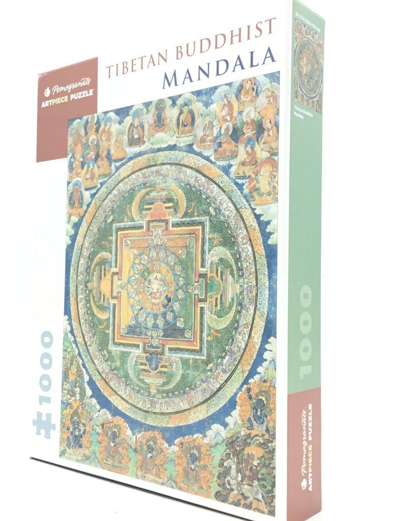 TIBETAN BUDDHIST MANDALA 1000 PIECE PUZZLE