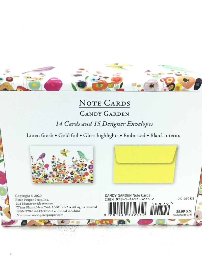 CANDY GARDEN NOTE CARDS