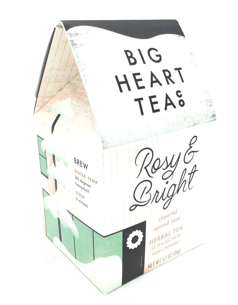 BIG HEART TEA ROSY & BRIGHT HIBISCUS TEA