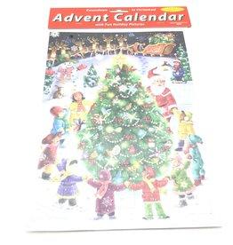 VERMONT CHRISTMAS  COMPANY GATHER ROUND THE TREE MEDIUM ADVENT CALENDAR