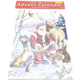 VERMONT CHRISTMAS  COMPANY FOREST FRIENDS MEDIUM ADVENT CALENDAR