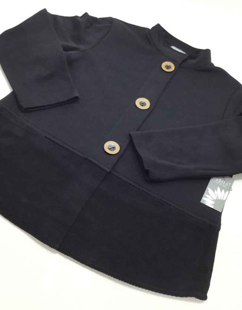 STAND COLLAR POCKET JACKET