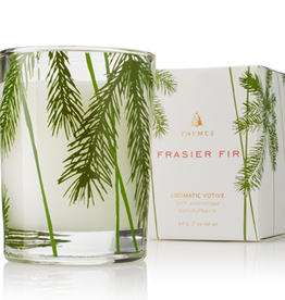 FRASIER FIR VOTIVE IN GLASS