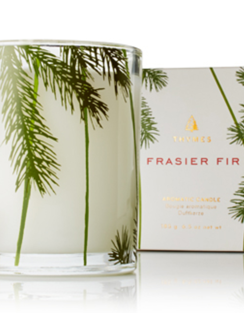 FRASIER FIR ETCHED GLASS CANDLE