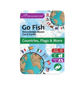 THE PURPLE COW GO FISH COUNTRIES, FLAGS & MORE