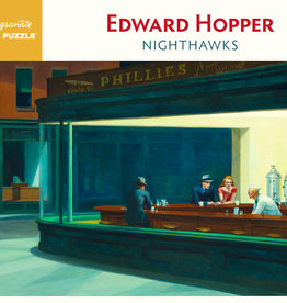 NIGHTHAWKS AT THE DINER 1000 PIECE PUZZLE