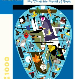 CHARLEY HARPER THE WORLD OF BIRDS PUZZLE