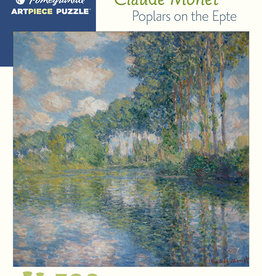 POPLARS ON THE EPTE 500 PIECE PUZZLE