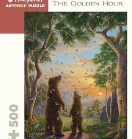 ROBERT BISSELL THE GOLDEN HOUR 500 PIECE PUZZLE